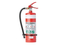 ABE powder fire extinguishers are ideal for residential and industrial applications