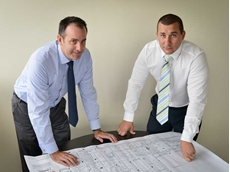 Andrew Lee, Chief Executive Officer (left) and Chris O'Sullivan, Chief Financial Officer (right), Wormald