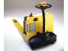 One of Yale's new pallet trucks.