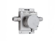The Coriolis mass flowmeter is designed to measure both liquids and gases.