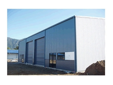High quality Bluescope Steel constructed Industrial Sheds for a variety of applications
