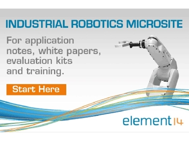 element14 has a comprehensive range of industrial robotics resources