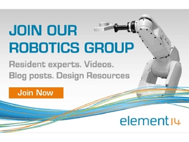 Join like minded robotics professionals to share resources and gain new insights