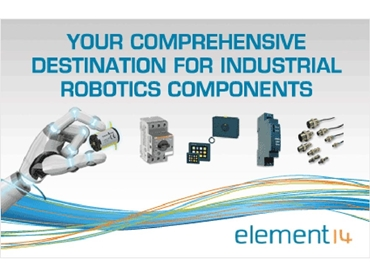 element14 provides comprehensive industrial robotic solutions