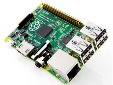Raspberry Pi B+ board