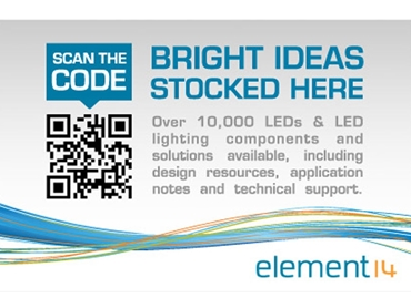 Innovative solutions with element14 Optoelectronics range