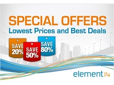 Special Offers from element14