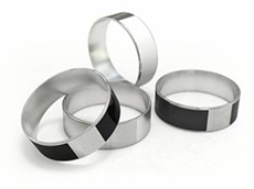 The NFC Ring can be used to unlock doors, mobile phones and to transfer information and link people.