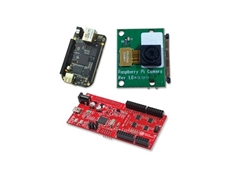 The BeagleBone Black development platform, Raspberry Pi camera board and triple-play Embedded Pi platform will be presented at the CeBIT 2013