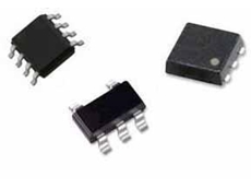 (L) TPS92210 LED driver, (M) OPA 171 operational amplifier and (R) TPS62122 step-down converter