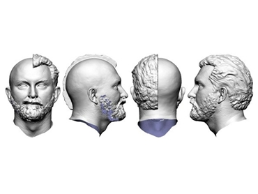 3D head scans from headus