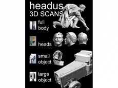 3D Scanning and 3D Software from headus (metamorphosis)