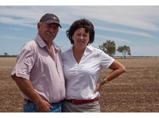 Peter Dent and his wife Jackie said the launch of iGrain's new automatic seller insurance provides growers with more confidence and security