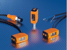 New compact ifm photoelectric sensors now also in a plastic housing