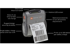 Toughest Portable Label Printer -Datamax O'Neil RL4 from insignia
