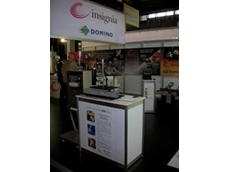 insignia demonstrates Domino range of coding and marking machines at Auspack 2009