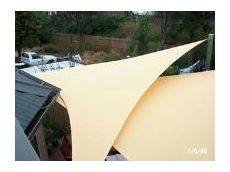 PVC waterproof shade sails