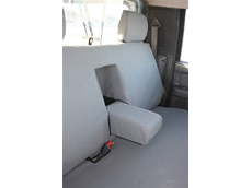 Machinery seat covers available from Sandgropercovers.com.au
