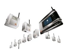 Wireless Data Loggers from testo